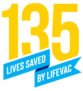 LifeVac Choking First Aid Saves 135th Life