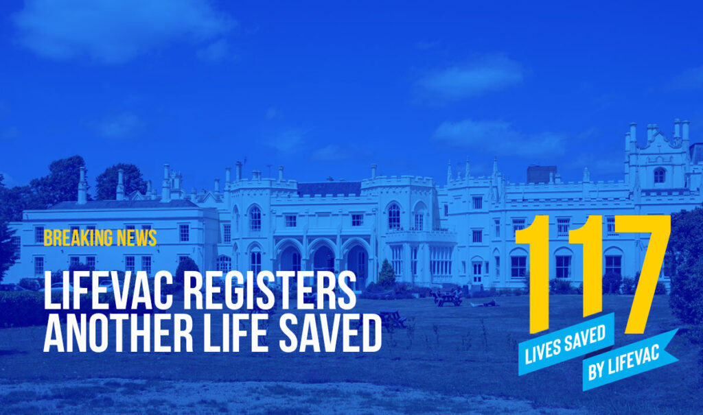 LifeVac Saves 117th Life from Choking