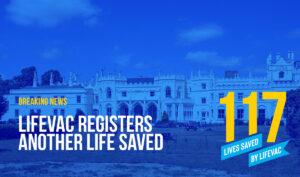 LifeVac Saves 117th Life from Choking