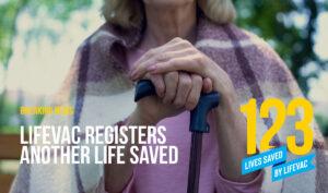 LifeVac Saves 123rd Lives