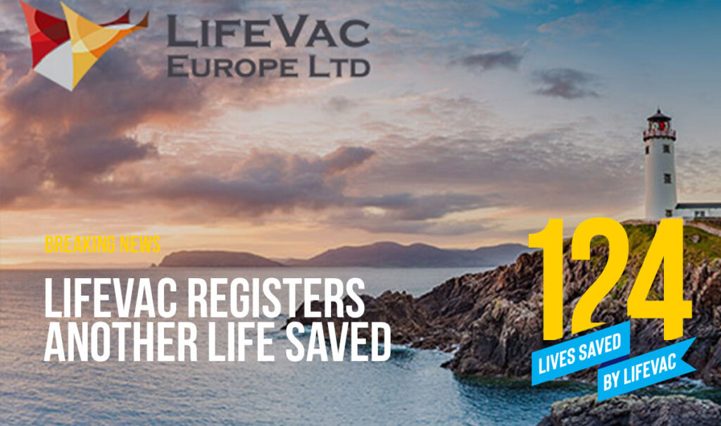 LifeVac saves 124th Life in Choking Emergency