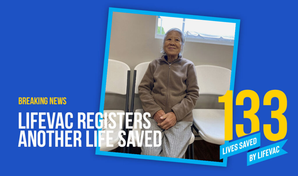 87 Year Old Saved by LifeVac
