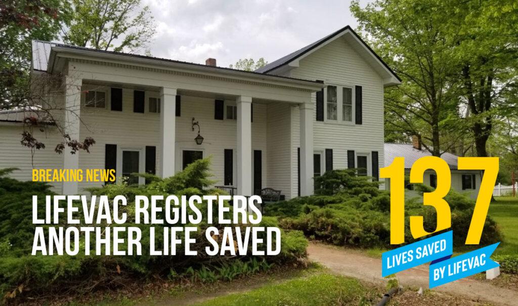 Choking First Aid saves 137th Life