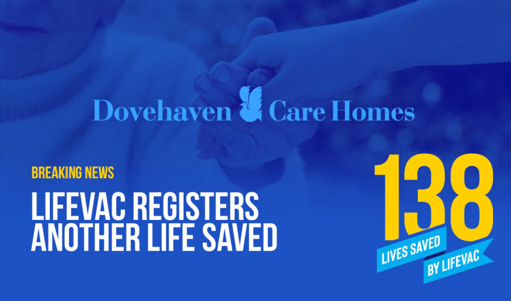 LifeVac saves patient in Care Home