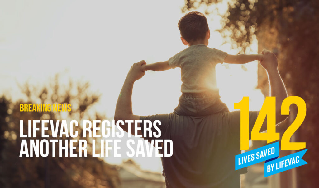 Parents save Toddler from Choking with LifeVac