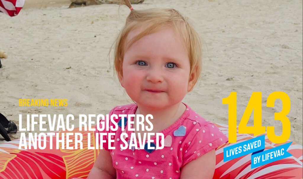 Mom saves her little toddler from choking with LifeVac