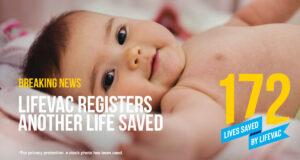 3-month-old saved from choking using LifeVac