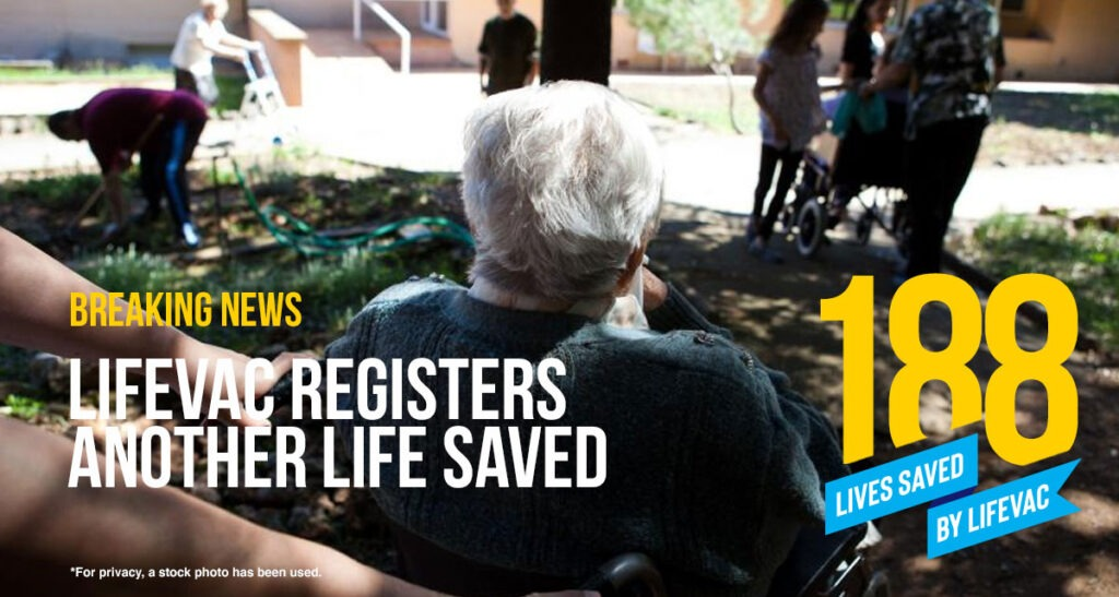 LifeVac Saves Another Life in Hallmark Care Home